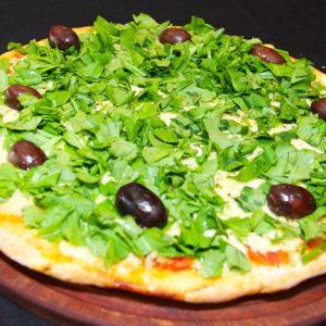 Mozzarella y rúcula