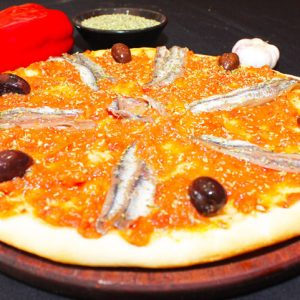 Salsa y anchoas